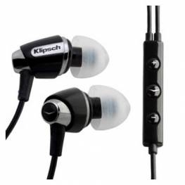 Klipsch Image S4i with Mic and 3-Button Remote Black