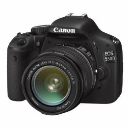 EOS 550D Kit (EF S18-55 IS)