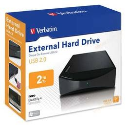 Verbatim 3.5 in. External USB 2.0 2TB
