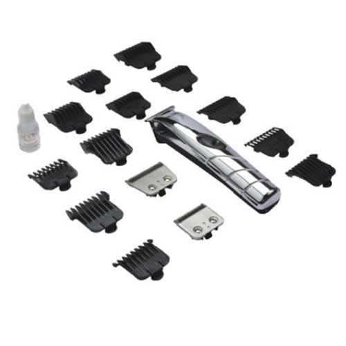 Andis 2-in-1 18-Piece Clipper+Trimmer Cordless Travel Grooming Kit