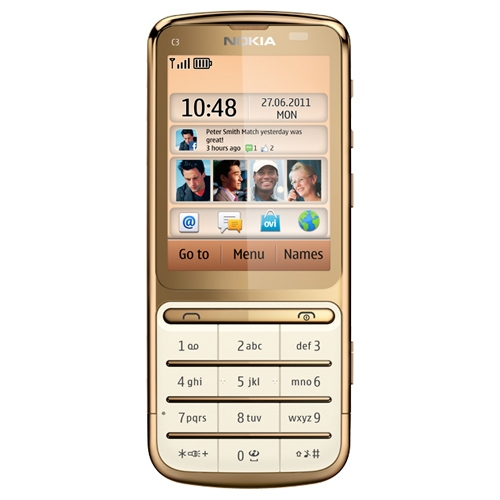 nokia c3 01 average looking but feature rich tech reviews firstpost rh firstpost com Preturi Nokia C3-01 Cover Nokia C3-01