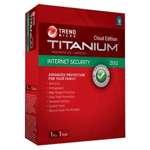Trend Micro Internet Security 2012 Cloud Edition 1 User