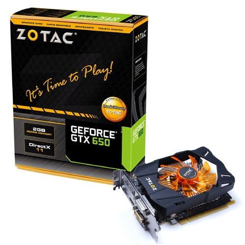 Zotac GeForce GTX 650 (1GB)