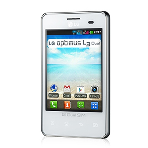 lg optimus l3 dual e405 price specifications features. Black Bedroom Furniture Sets. Home Design Ideas