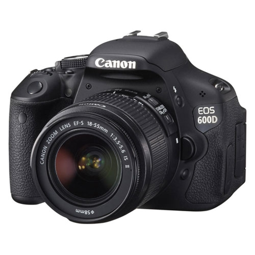 Canon EOS 600D Kit III (EF S18-55 IS II)