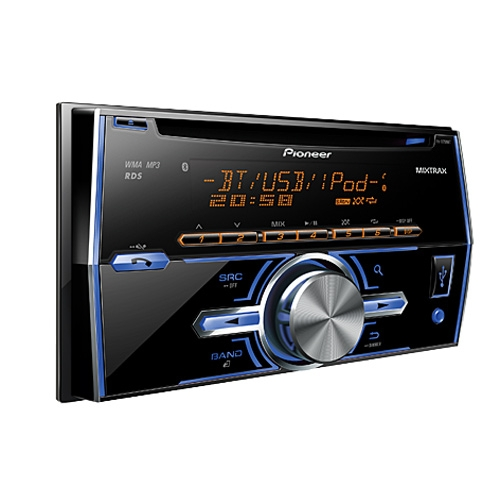 Pioneer car audio with bluetooth and usb india 11