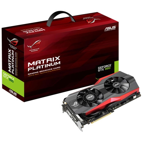 ASUS ROG Matrix-GTX980-P-4GD5