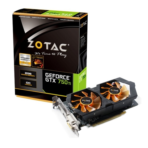 Zotac GeForce GTX 750 Ti OC