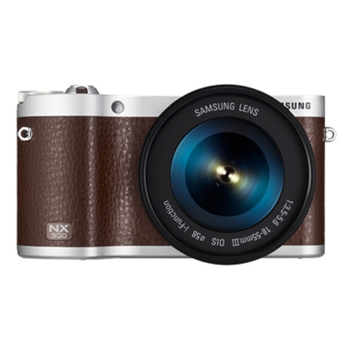 Samsung NX300-Single lens (18-55 mm)