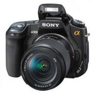 sony dslr a300 price specifications features reviews comparison